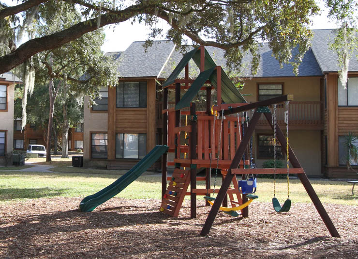 Children's Play Area at Cypress Trail Apartments in New Port Richey, FL