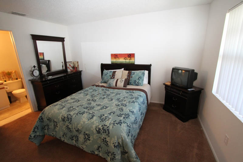 Spacious Bedroom at Cypress Trail Apartments in New Port Richey, FL