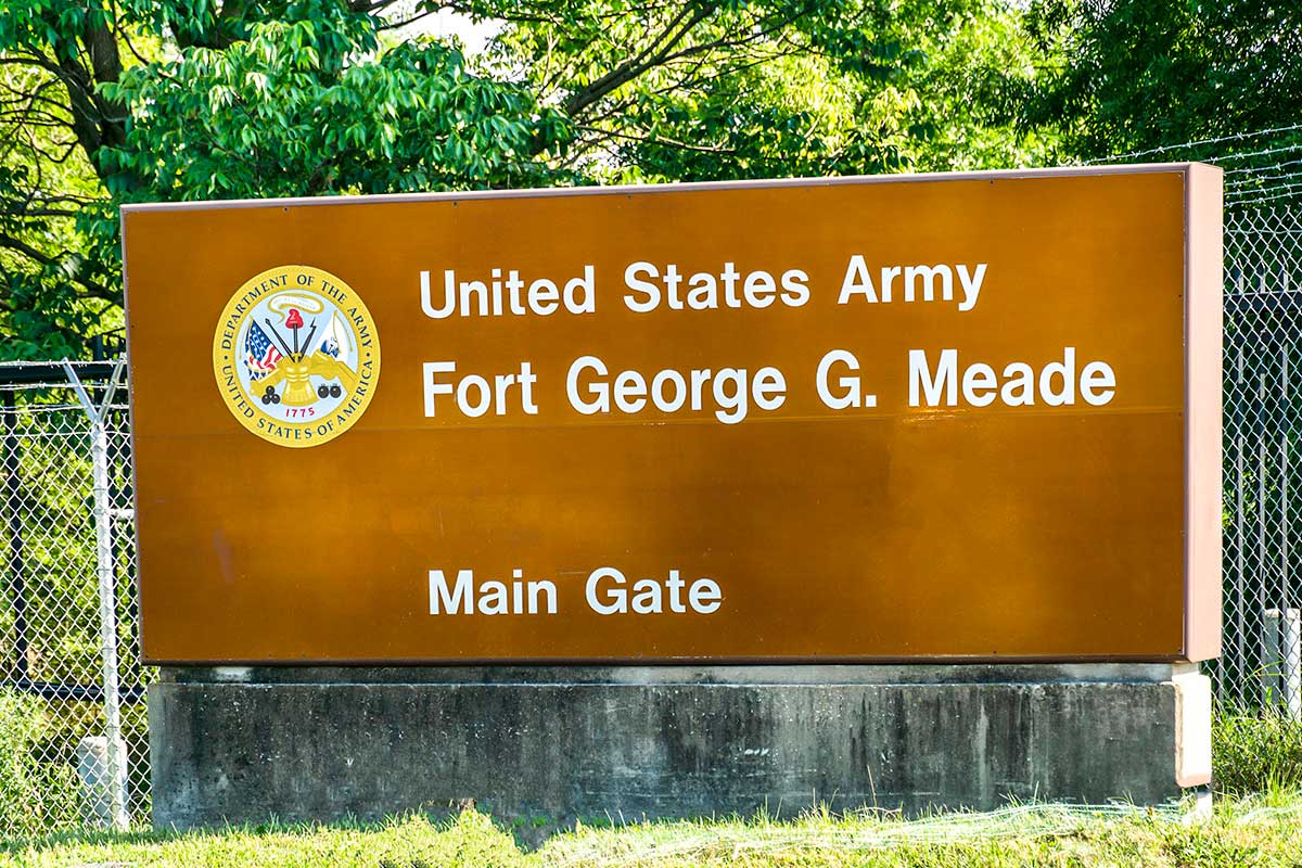 Fort Meade is 15 minutes from Deerfield Run & Village Square North Apartments in Laurel, MD