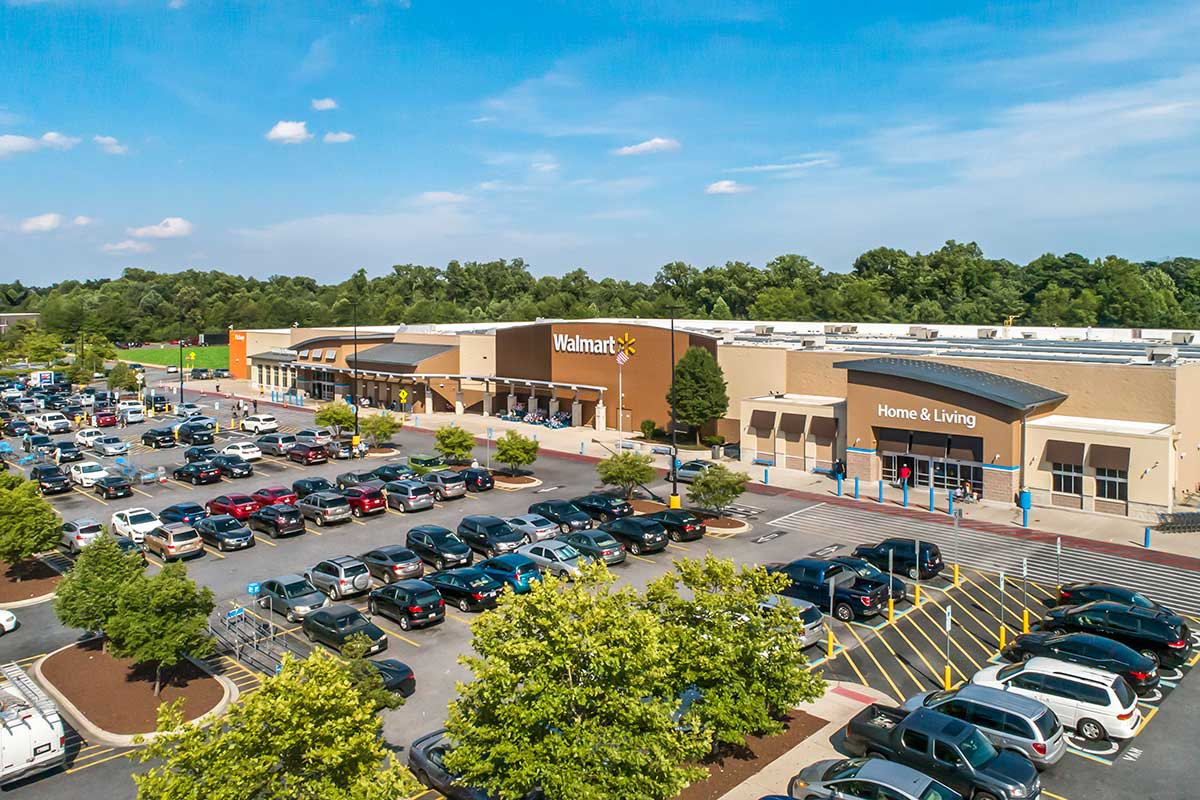 Walmart Supercenter is 10 minutes from Deerfield Run & Village Square North Apartments