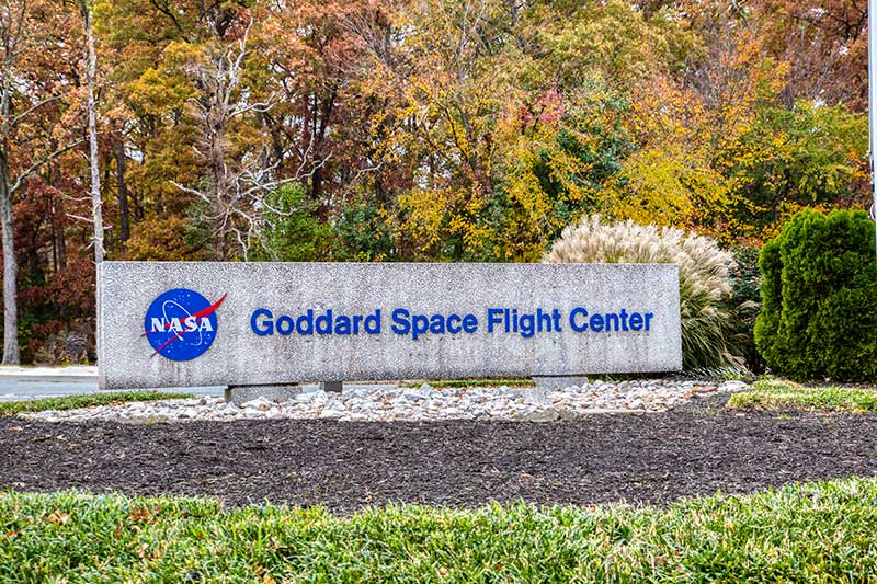 15 minutes to NASA Goddard Space Flight Center