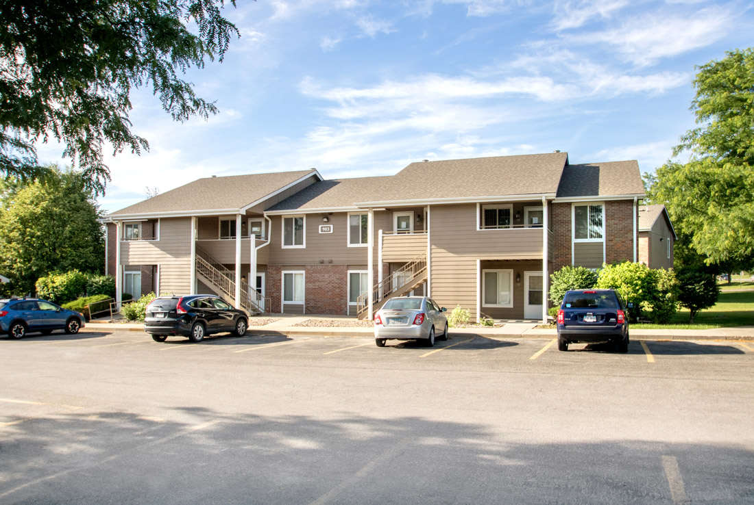 Ample Parking at Delaware Crossing Apartments in Ankeny, Iowa