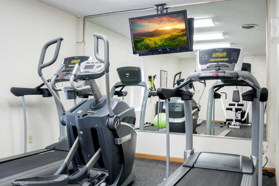 Community Fitness Center at Delaware Crossing Apartments in Ankeny, Iowa