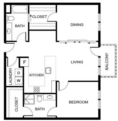 Floorplan - DC3 image