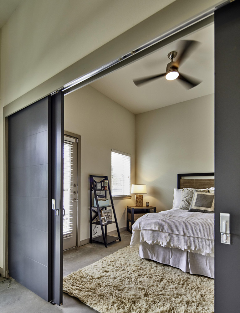 Spacious Bedrooms With Ample Natural Lighting At Digit 1919 Apartments In Dallas, TX