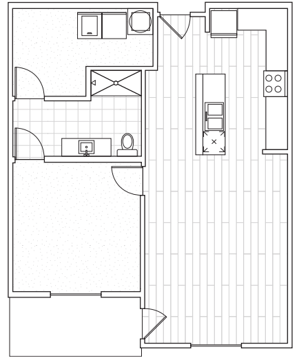 Floorplan - A2c with Den image