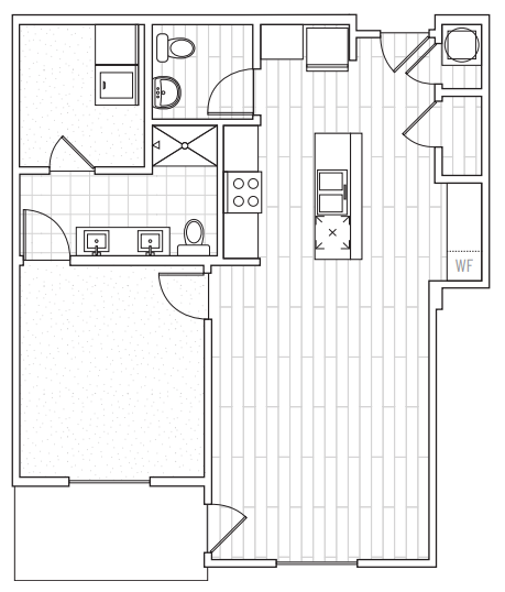 The District Flats - Floorplan - A2d