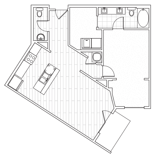 The District Flats - Floorplan - A3