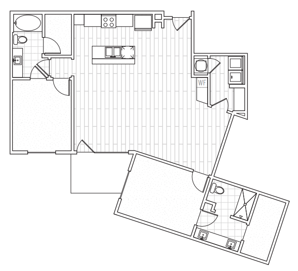 The District Flats - Floorplan - C4