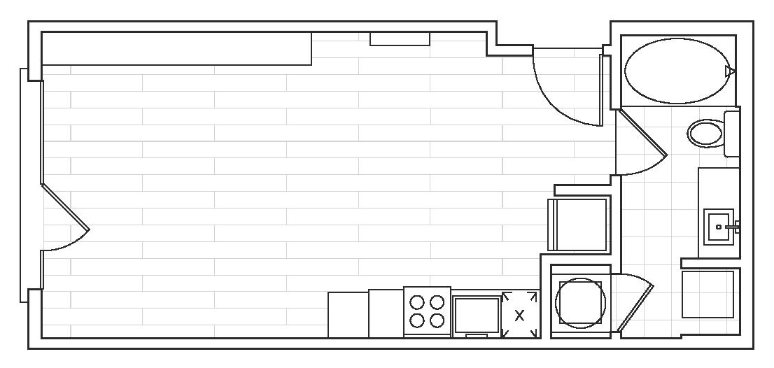 The District Flats - Floorplan - S1