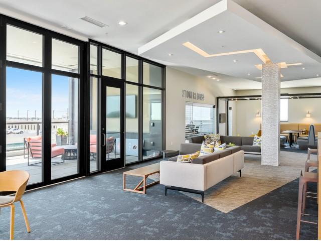 Scenic Community Views at The District Flats Apartments in Lenexa, KS