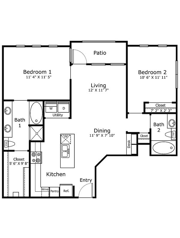 Dolce Midtown - Apartment 1302