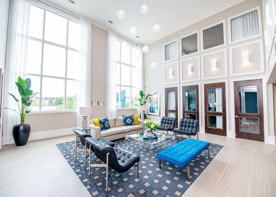 Stylish Interiors at Dolce Midtown Apartments in Houston, Texas