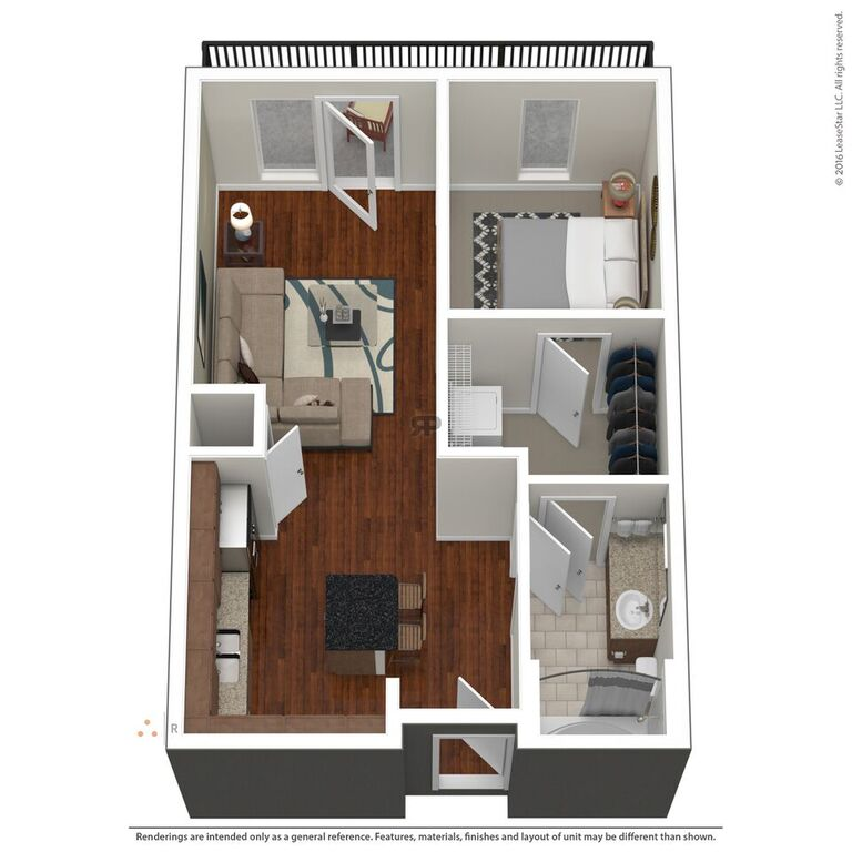 Domain City Center - Floorplan - A1
