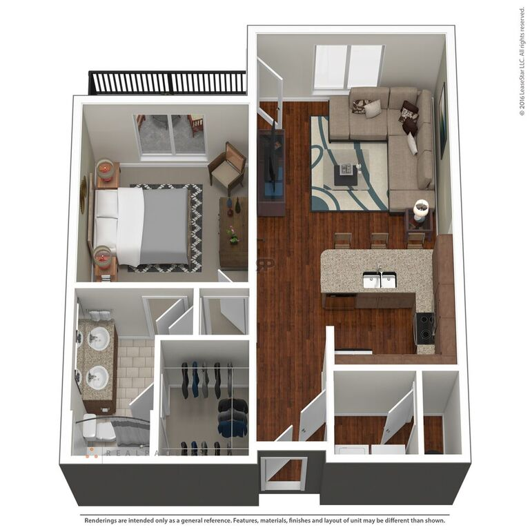 Domain City Center - Floorplan - A2