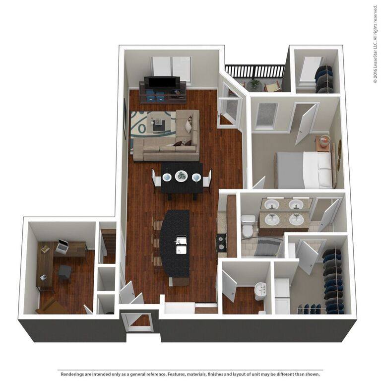 Domain City Center - Floorplan - B1