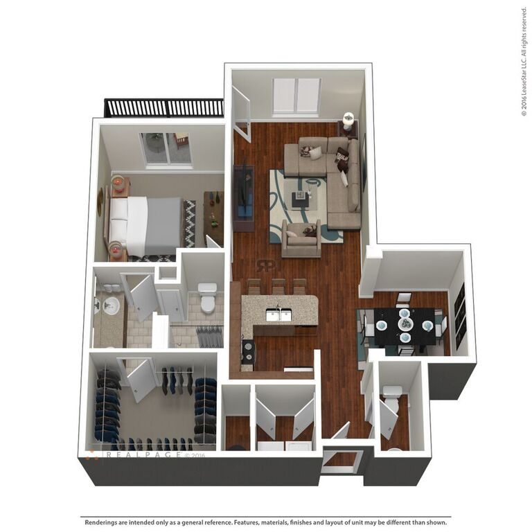Domain City Center - Floorplan - B2