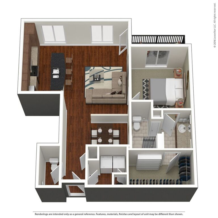 Domain City Center - Floorplan - B3