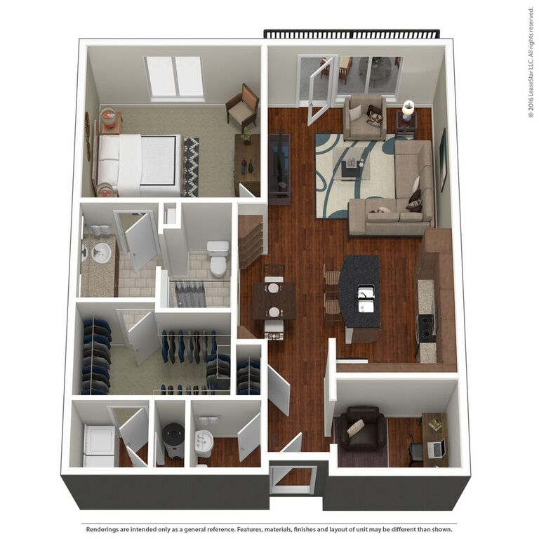 Domain City Center - Floorplan - B4