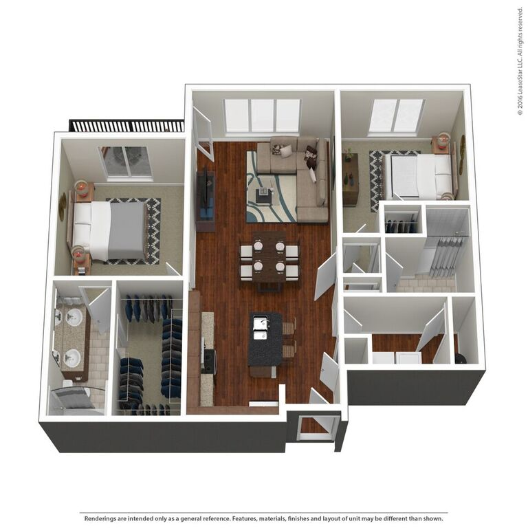 Domain City Center - Floorplan - C1