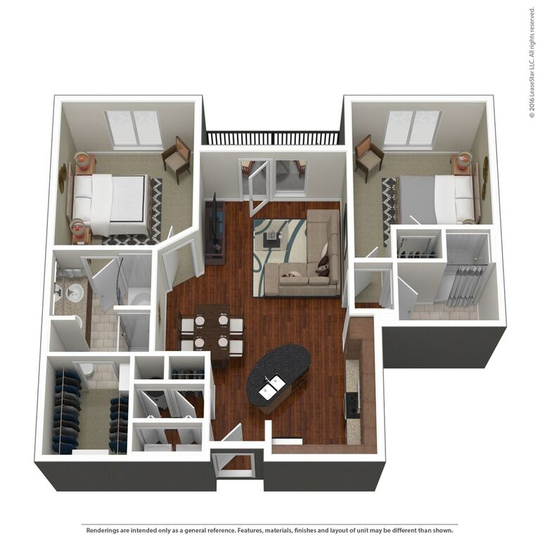 Domain City Center - Floorplan - C2