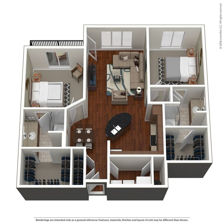 Domain City Center - Floorplan - C3