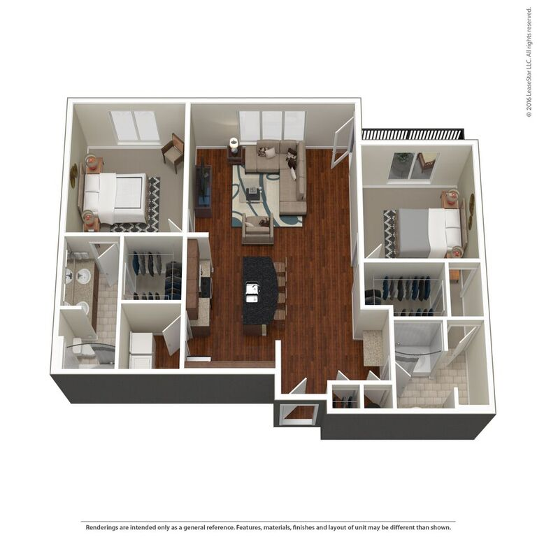 Domain City Center - Floorplan - C4