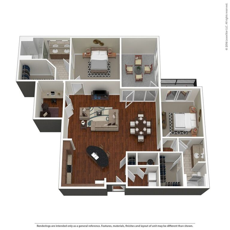 Domain City Center - Floorplan - D1