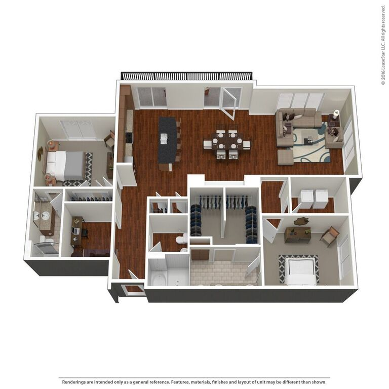 Domain City Center - Floorplan - D2