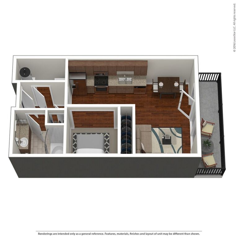 Domain City Center - Floorplan - S