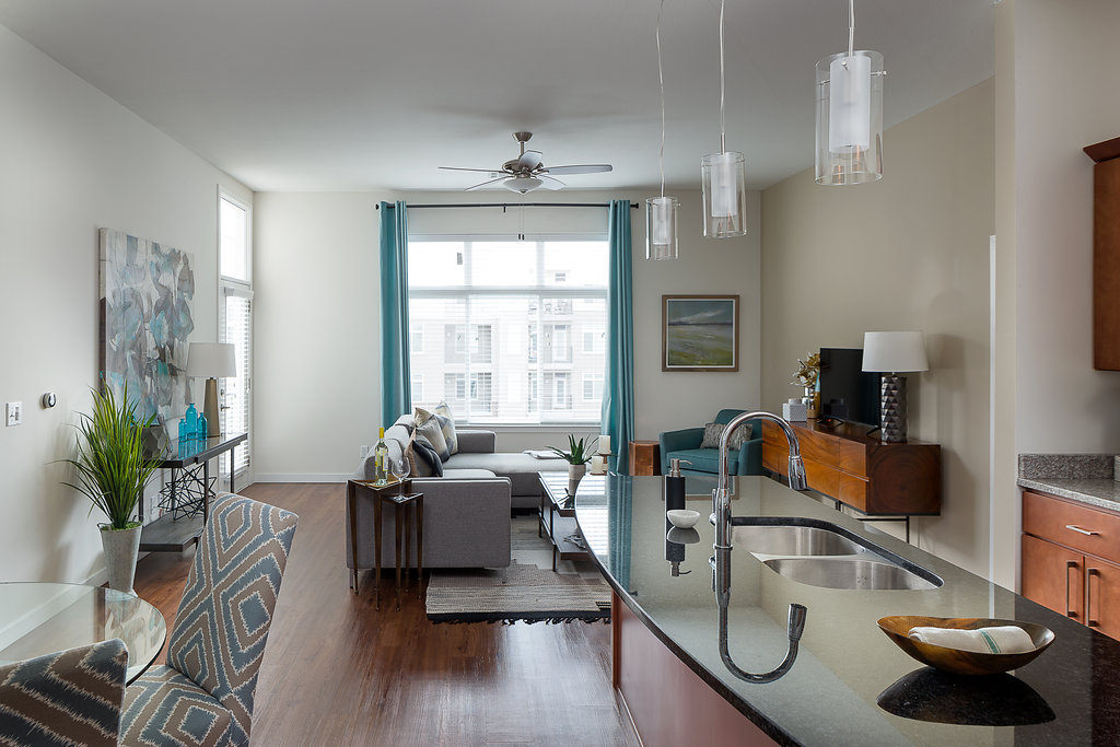 Brand New Apartment Living at Domain City Center Luxury Apartments in Lenexa, Kansas