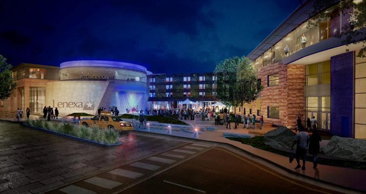 Lenexa City Center at at Domain City Center Luxury Apartments in Lenexa, Kansas