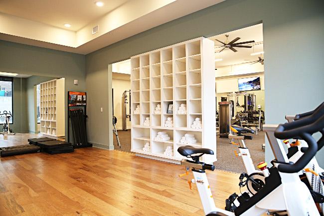 Yoga Center at Domain City Center Luxury Apartments in Lenexa, Kansas