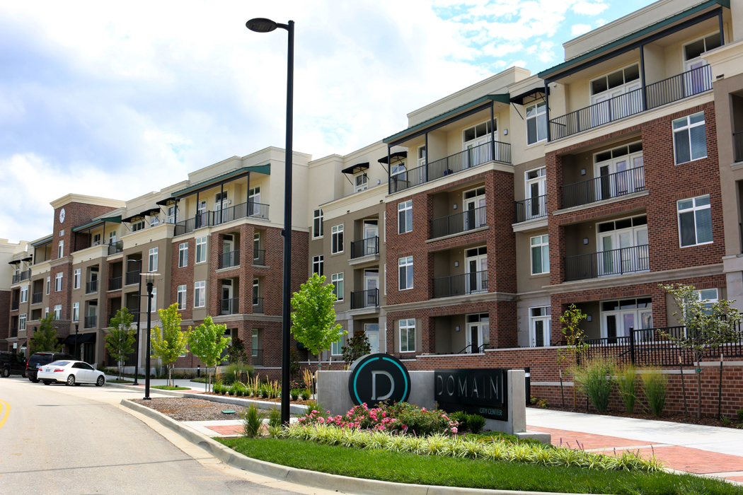 Luxury Apartments for Rent in Lenexa at Domain City Center Luxury Apartments in Lenexa, Kansas