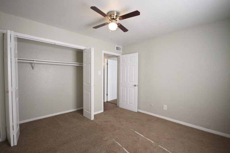 Walk-In Closets at Dover Place Apartments in Houston, Texas