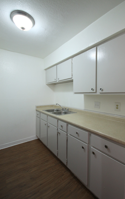 Ample Kitchen Counterspace at Dover Place Apartments in Houston, Texas