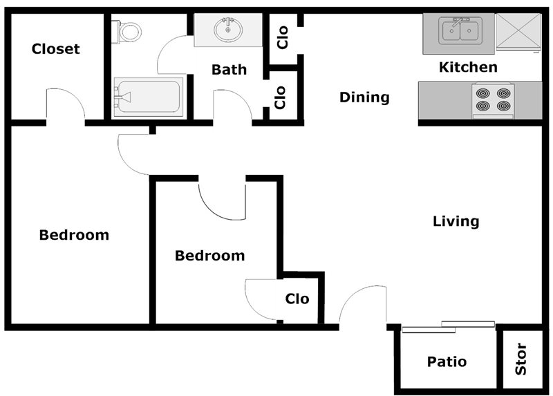 Dyersdale Village - Floorplan - A2