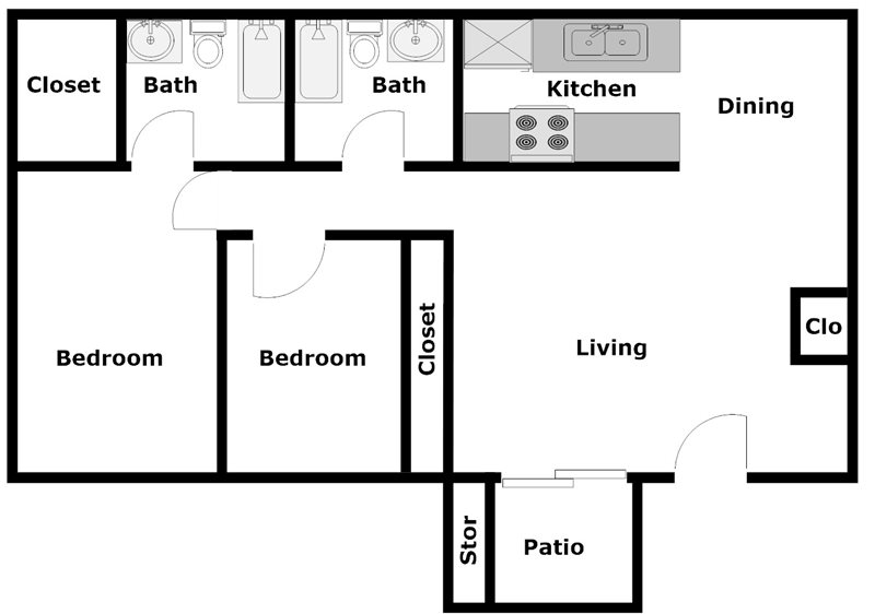 Dyersdale Village - Floorplan - A3