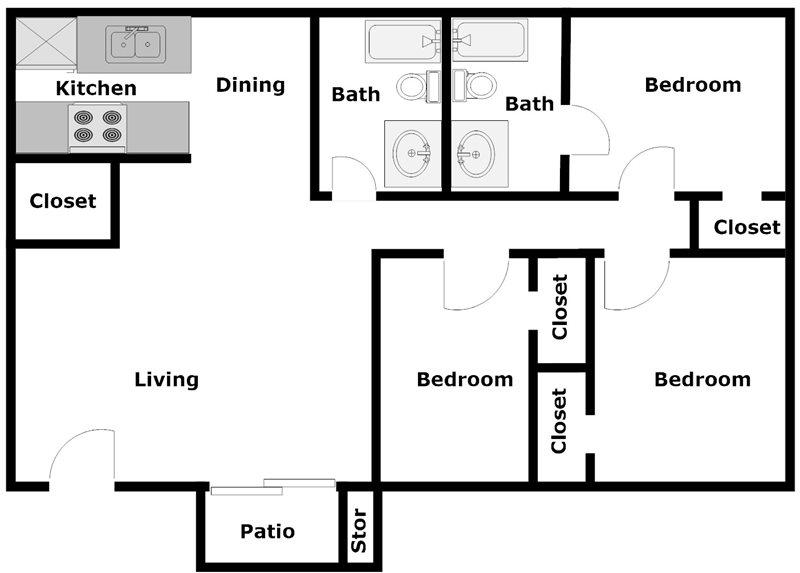 Dyersdale Village - Floorplan - A4