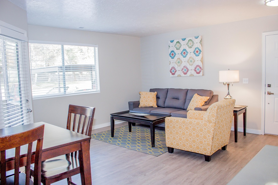 Modern Apartments at Edgewood Apartments in Cottonwood Heights, UT