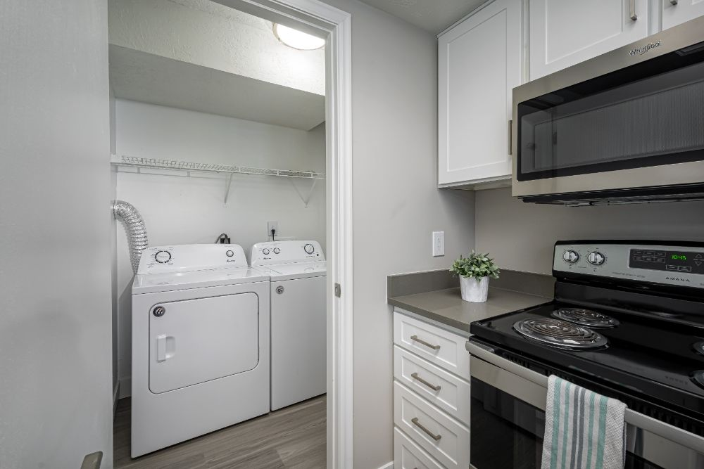 New Appliances and Washer/Dryer in Every Unit at Edgewood Park Apartments