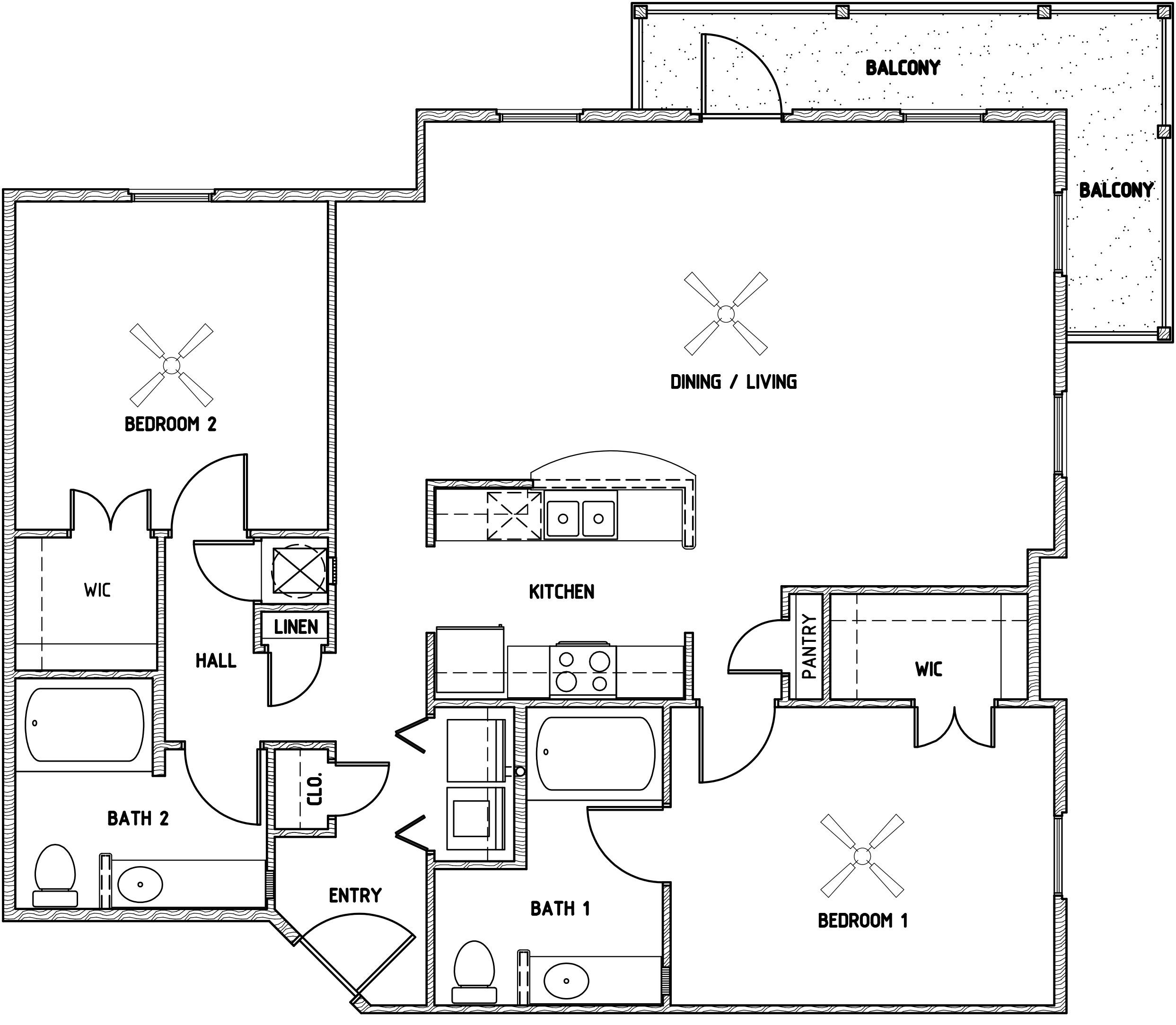 Elan at Terra Bella - Floorplan - H