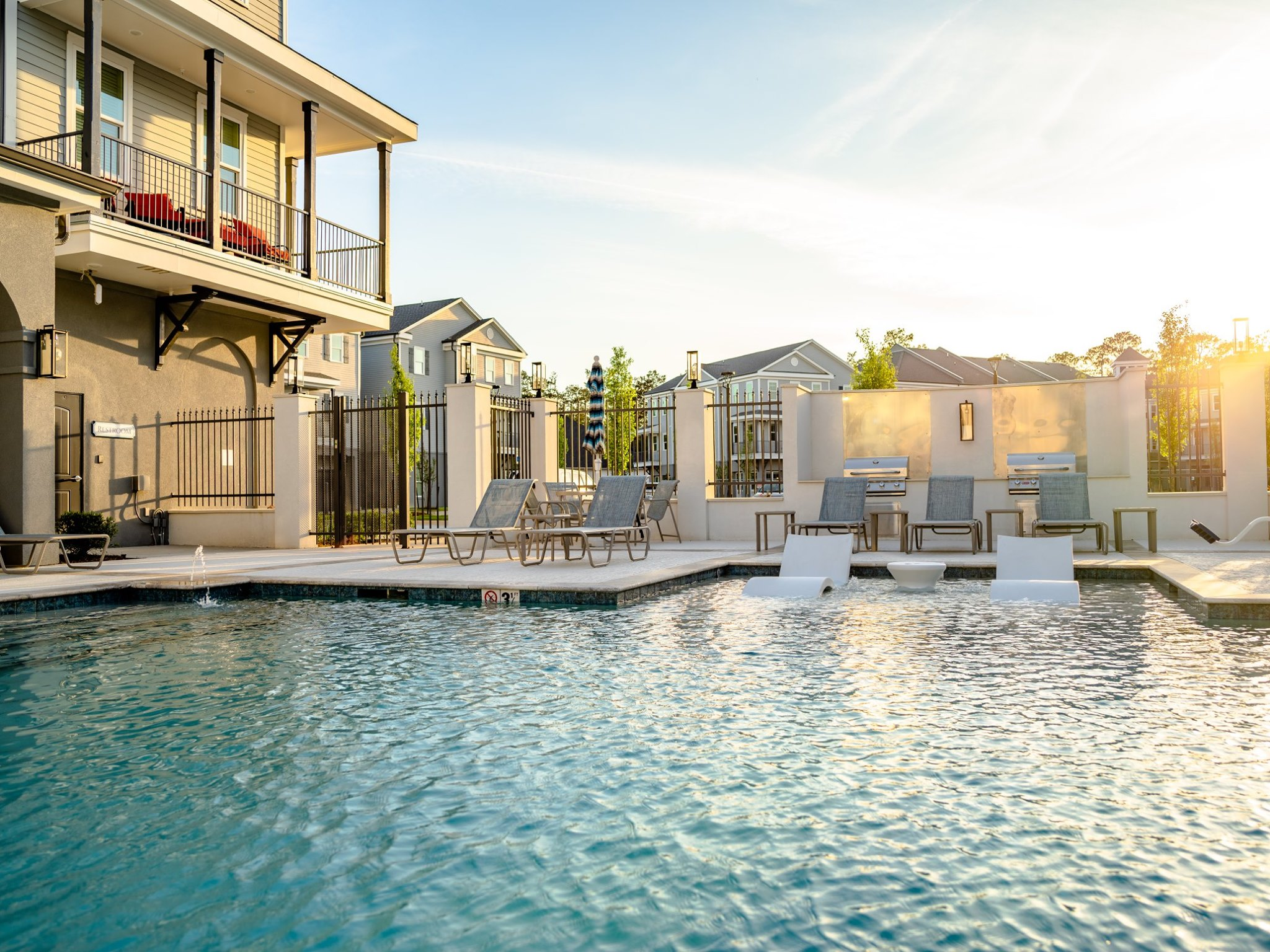 Relaxing Swimming Pool at Elan at Terra Bella Apartments in Covington, Louisiana