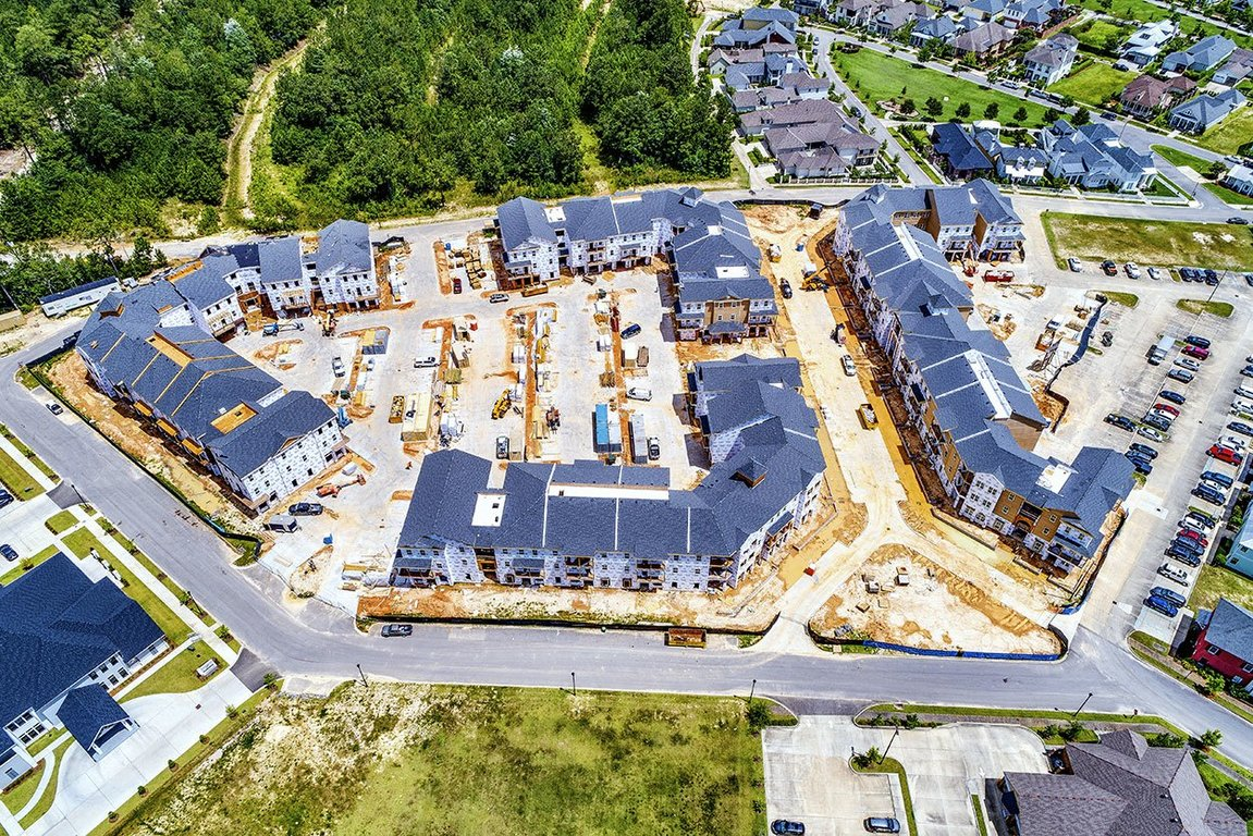 Aerial Views of Elan at Terra Bella Apartments in Covington, Louisiana