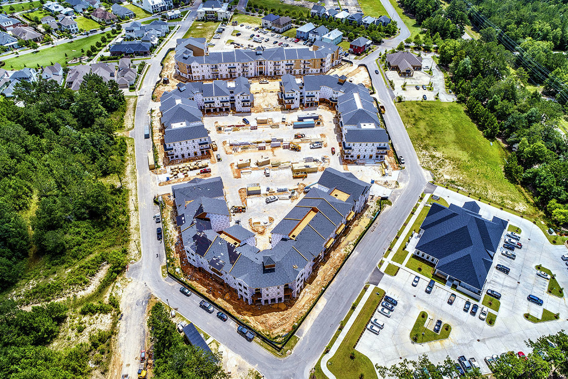 Drone Footage of Elan at Terra Bella Apartments in Covington, Louisiana