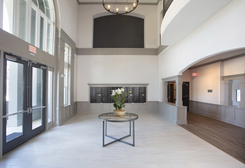 Lobby at Elan at Terra Bella Apartments in Covington, Louisiana