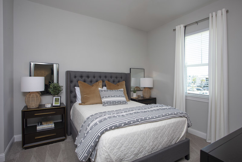 Cozy Bedrooms at Elan at Terra Bella Apartments in Covington, Louisiana