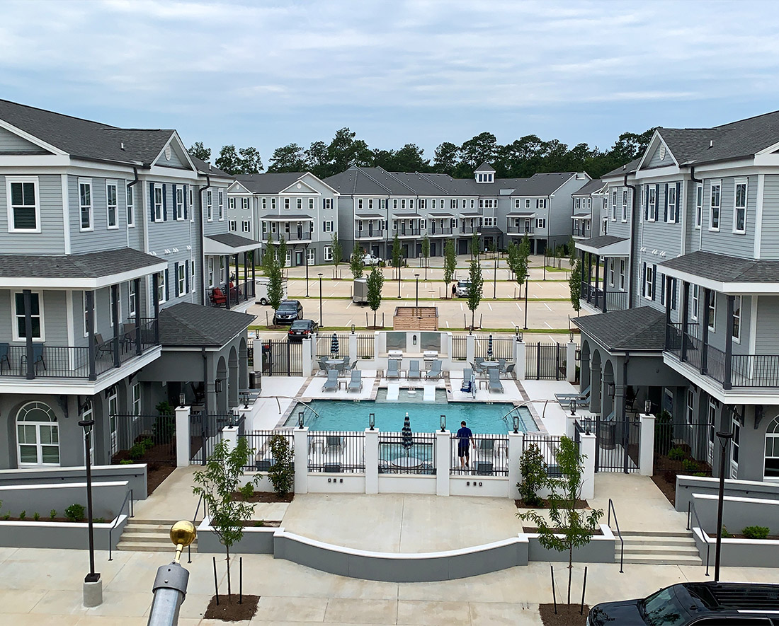 Aerial View at Elan at Terra Bella Apartments in Covington, Louisiana