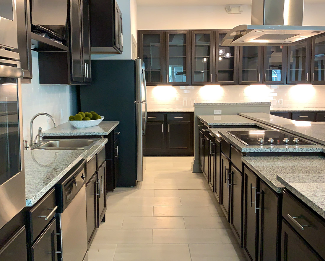 Fully Equipped Kitchen at Elan at Terra Bella Apartments in Covington, Louisiana