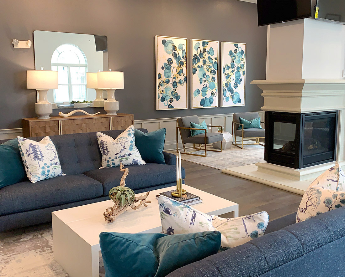 Neutral Color Scheme at Elan at Terra Bella Apartments in Covington, Louisiana